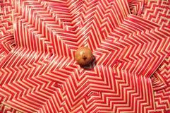 Сделанный магазин корзин Много вид корзины которое сделано бамбука wicker корзины handmade тайский Сплетенная бамбуковая текстура Стоковое Изображение