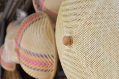 Сделанный магазин корзин Много вид корзины которое сделано бамбука wicker корзины handmade тайский Оно Стоковое Фото