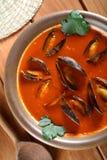 сделанный суп shellfish стоковое фото rf