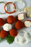 сделанный сыр закуски Стоковое Изображение