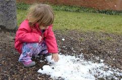 сдержанное последнее snow2 Стоковые Изображения
