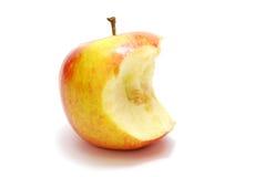 сдержанное яблоко Стоковое Фото