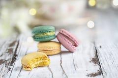 Сдержанный француз Macaron стоковое изображение