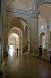сдобренная прихожая собора Стоковая Фотография RF