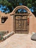 Сдобренные ворота, юго-западный стиль стоковое фото