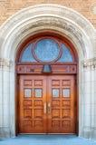 сдобренные двери Стоковые Фото