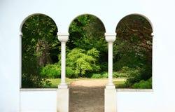 сдобренные окна стоковое изображение rf