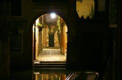 сдобренный вход канала Стоковая Фотография