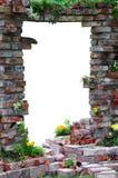 Сдобренный вход через стену Стоковое Изображение RF