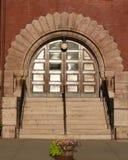 сдобренный городок залы входа Стоковая Фотография