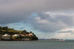 Северная головная пристань в Devonport, Окленде Стоковая Фотография