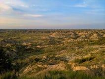 Северная Дакота & x27; s покрасил каньоны стоковое изображение rf