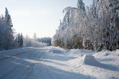 северная дорога Стоковые Фотографии RF