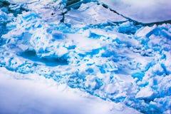 Северная зима предпосылки айсберга яркая Стоковая Фотография RF