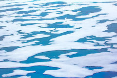 Северная зима предпосылки айсберга яркая Стоковое фото RF