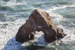 Северная калифорния Seastack Стоковые Изображения