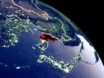 Северная Корея от космоса бесплатная иллюстрация