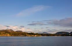 северная Норвегия Стоковые Фотографии RF