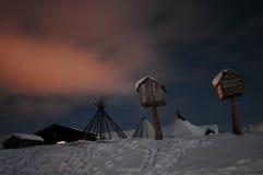 северная Норвегия Стоковые Изображения RF