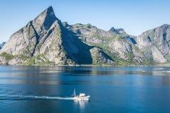 Северная Норвегия landscapes Стоковое Изображение