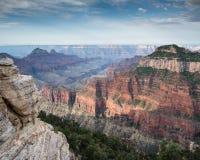 Северная оправа, гранд-каньон, Аризона Стоковые Изображения RF