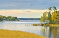 Северная осень Стоковые Фото
