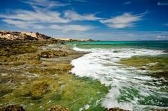 Северное восточное побережье Фуэртевентуры, Стоковое Фото