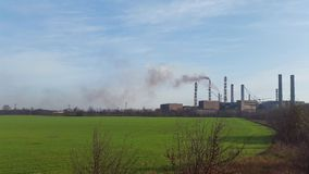 Северное минирование и завод по обработке Украина Krivoy Rog Стоковое Изображение RF