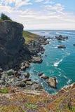 Северное побережье CA Стоковое Изображение RF