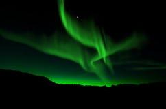 Северное сияние, северное сияние Стоковые Фотографии RF