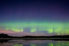 Северное сияние, северное сияние Стоковая Фотография RF