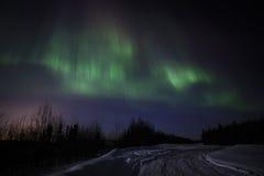 Северное сияние Стоковое фото RF