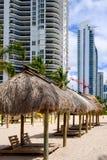 Северное Miami Beach Стоковые Изображения