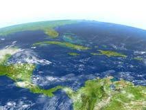 Северно Вест-Инди на земле планеты бесплатная иллюстрация