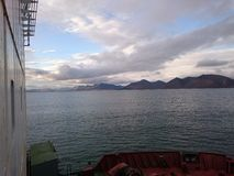 северно Море Rossiya ostrov, Wrangell стоковая фотография