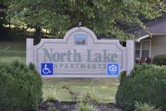 Северные квартиры озера, Мемфис, TN стоковое фото