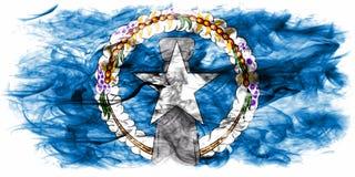 Северные острова курят флаг, государство объединенного иллюстрация вектора