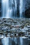 Северные падения на серебряные падения парк штата, Орегон стоковые фото