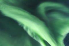Северные света в Исландии Стоковое фото RF