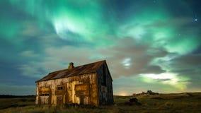 Северные света стоковая фотография rf