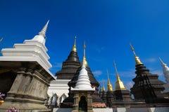 Северные тайские архитектуры стиля Стоковое Изображение