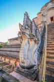 Северные тайские архитектуры стиля Стоковое Изображение RF