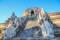 Северные тайские архитектуры стиля Стоковое Фото