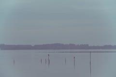 Северный ландшафт моря Стоковые Фотографии RF