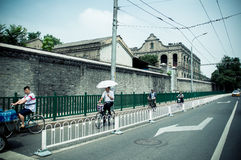 Северный бульвар dongsi Пекин Стоковые Изображения
