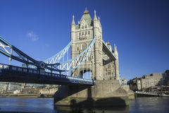 Северный взгляд моста башни Стоковое Фото