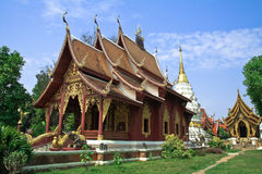 северный висок Таиланд Стоковые Фото