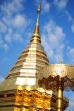 Северный висок Таиланда Стоковое Фото