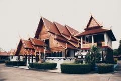 Северный висок Таиланда Стоковая Фотография