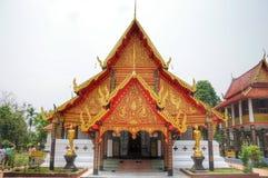 северный висок Таиланд Стоковое Фото